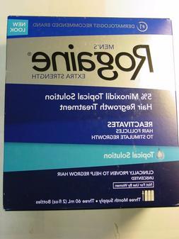Rogaine Men's Hair Regrowth Treatment Topical Solution 3 mon
