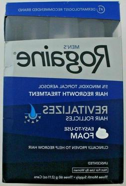 Mens Rogaine 5% Minoxidil Hair Regrowth Treatment Foam - 1,