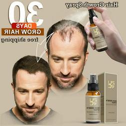Miracle Hair Growth Spray Fast 30Days Grow Restoration Stren