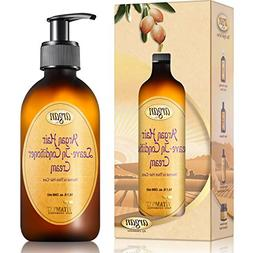Moroccan Argan Leave In Conditioner Cream - Normal to Thick