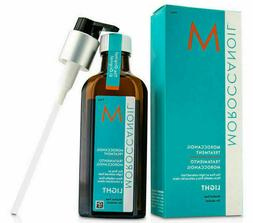 Moroccanoil Moroccan Oil Light Hair Treatment 3.4 oz With Pu