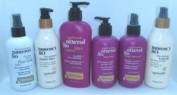 Natural Oliology Beauty Oils Coconut oil and Keratin oil Hai