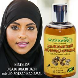 Natural hair growth serum, scalp treatment black castor oil,