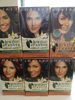 CLAIROL Natural Instincts Ammonia Free - Color Options to Ch