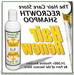 natural HAIR RENEW ® SHAMPOO loss regrowth women treatment