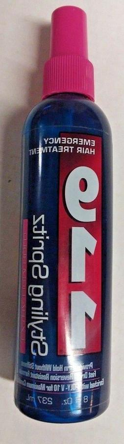 New 911 Emergency Hair Treatment Styling Spritz Extra Firm H