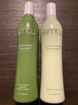 NEW Loma Moisturizing Shampoo & Treatment SET Normal To Dry