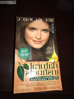 NIB CLAIROL NATURAL INSTINCTS HAIR COLOR LIGHT Cool BROWN 6A