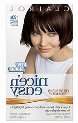 Clairol Nice 'n Easy Hair Color 120b Natural Dark Caramel Br