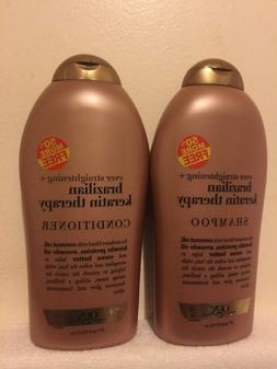 OGX Organix Brazilian Keratin Therapy Shampoo & Conditioner