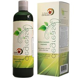 Shampoo for Oily Hair & Oily Scalp - Natural Dandruff Treatm