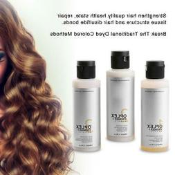 Oplex Zero Damage Hair Care Treatment Products Before Dyeing