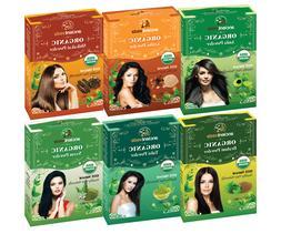 Organic Amla, Shikakai, Tulsi, Neem, Brahmi & Aritha Natural