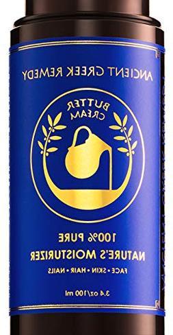 Organic Butter Cream Blend of Almond, Castor, Lavender, oliv