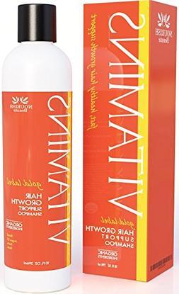 organic hair growth shampoo w
