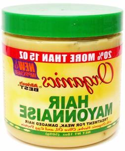 Organics Hair Mayonnaise Treatment For Week, Damaged hair By