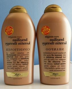 OGX Organix Ever Straight Brazilian Keratin Therapy shampoo&