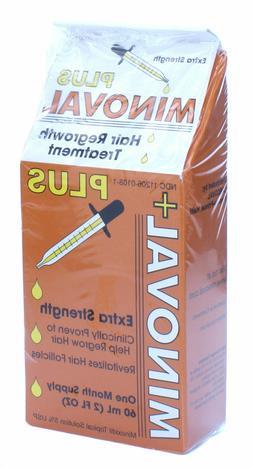 plus hair regrowth treatment minoxidil 5 percent