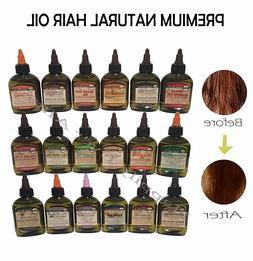 Premium Natural Hair Oil- Difeel Hair Treatment for Healthy