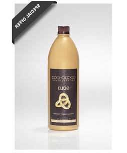 COCOCHOCO professional hair treatment with 24k liquid gold -