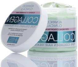 Advanced Clinicals Pure Collagen Hair Treatment Mask 12 Fl O