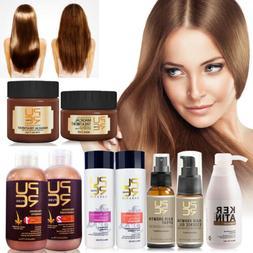 Pure Keratin Straightening Treatment Hair Care Repair Healin