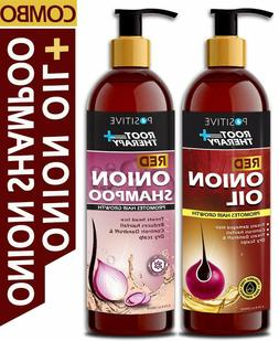 POSITIVE Root Therapy + Red Onion Shampoo & Oil All Hair Typ