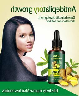 Regrow 7 Day Ginger Hair Germinal Hair Serum Loss Treatment