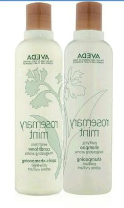 Aveda Rosemary Mint Shampoo And Conditioner 8.5 oz / 250ml D