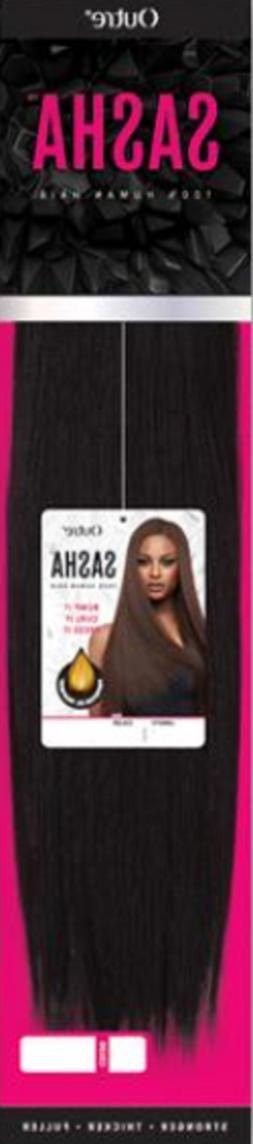 OUTRE SASHA 100% Human Hair Yaki Weave with Protective Oil T