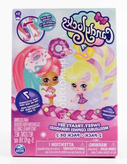 Scented CandyLocks Sweet Treats BFF Dolls w/ Hair Accessorie