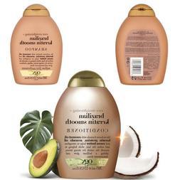 Ogx Shampoo And Conditioner Hair Care Brazilian Keratin Smoo