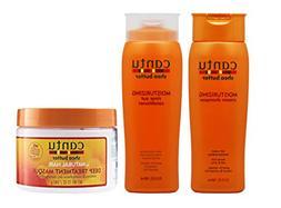 Cantu Shea Butter Shampoo Conditioner & Deep Treatment Masqu