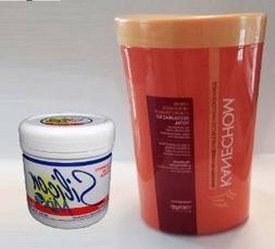 Kanechom Shea Butter 35.2oz + Silicon Mix Hair Treatment 16o