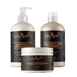 SheaMoistureAfrican Black Soap Hair Care Pack   13 fl. oz. D