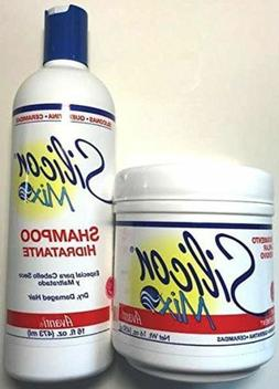 Silicon Mix Hair Treatment and Shampoo combo 16 OZ
