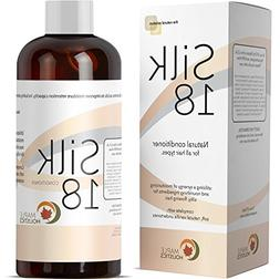 Silk18 Natural Conditioner for Women & Men with Dry & Damage