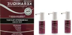 Lot of 4  Keranique Hair Regrowth Treatment for Women USA