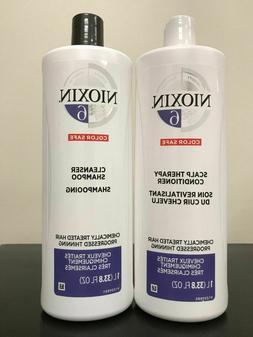 Nioxin System 3 Cleanser Liter 33.8 oz & Scalp Therapy Liter
