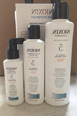 Nioxin System Kit 5 for Fine Hair - Cleanser, Conditioner an