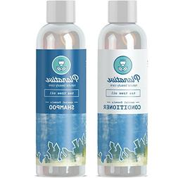 Pure Tea Tree Oil Healing Shampoo and Conditioner Set Anti D