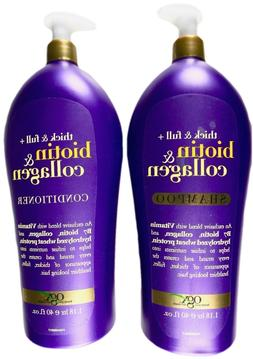 OGX Thick & Full Biotin plus Collagen Shampoo or Conditioner