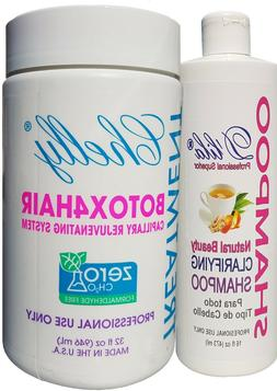 Chelly Treatment Botox4Hair Rejuvenating 32Oz. with D'lila C