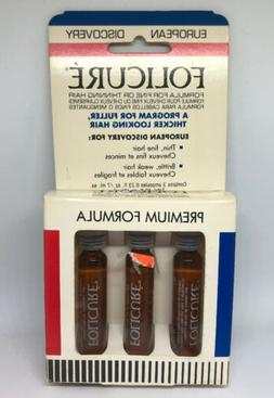 Folicure Treatment For Fine Or Thinning Hair - 3  Ampoules -