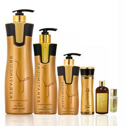 Keratin Cure Treatment Gold Honey Bio Protein Safe Silky Sof