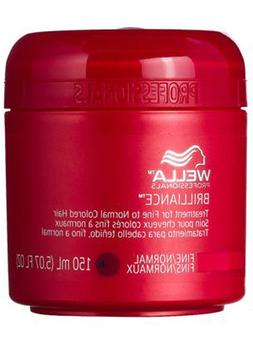 Wella Coarse Colored Hair Brilliance Treatment for Unisex, 5