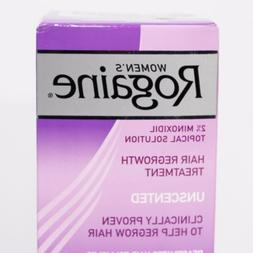 Women's Rogaine Hair Regrowth Treatment Unscented 2oz 1 Mont