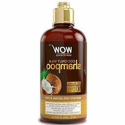 WOW Coconut Milk Shampoo - Hair Growth Treatment Products fo