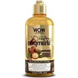 WOW Moroccan Argan Oil Shampoo - For Best Hair Growth Treatm