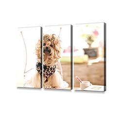 Yorkshire Terrier Dog Day at The Pet Grooming Salon3 Pieces
